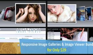 Responsive Photo Galleries & Image Viewer Bundle for Only $29