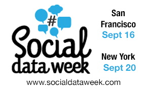 Social Data Week TNW Upcoming global tech and media events you need to know about [Discounts]
